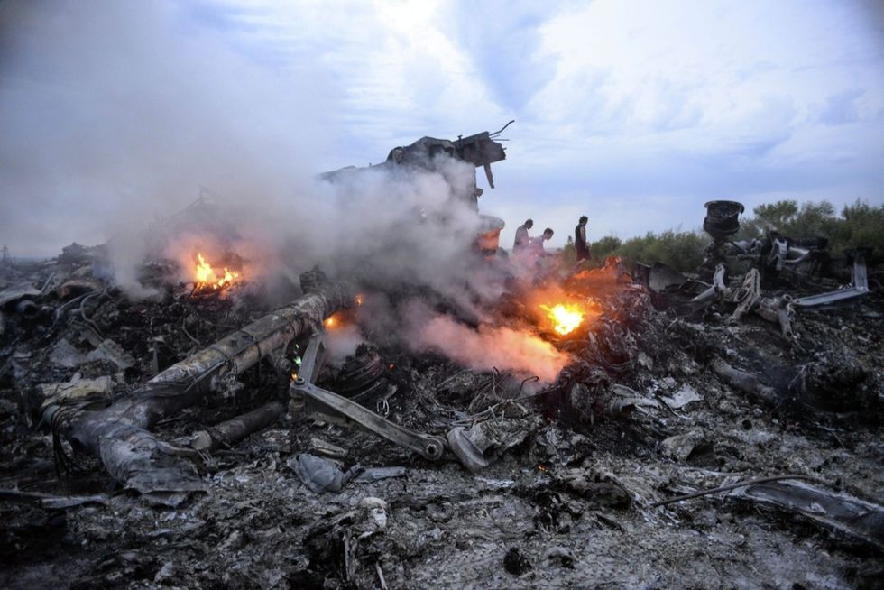 aereo mh17 ucraina russia