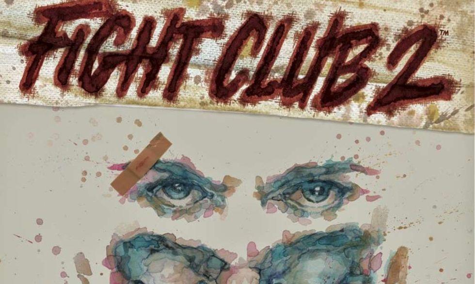 'Fight Club 2', le prime tavole in anteprima