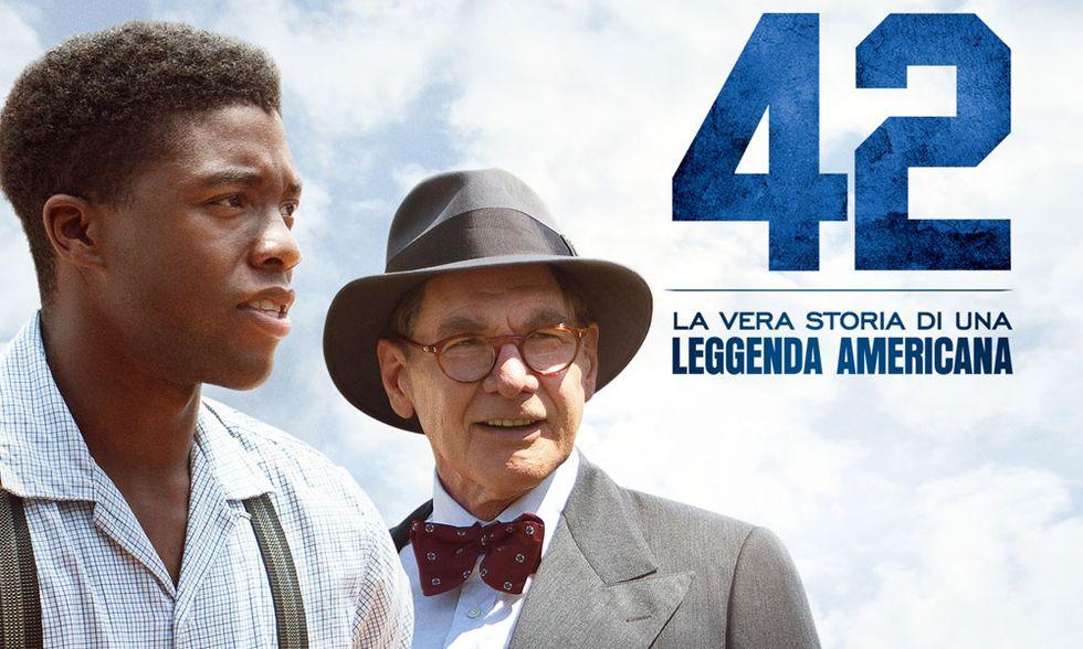 42: il film su Jackie Robinson, leggenda del baseball
