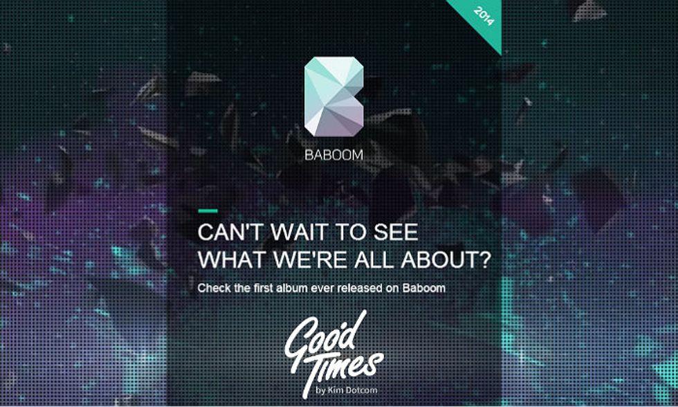 Baboom: streaming e download gratis da Kim Dotcom