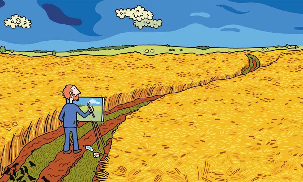 """""""Vincent"""", ritratto a fumetti di Van Gogh"""