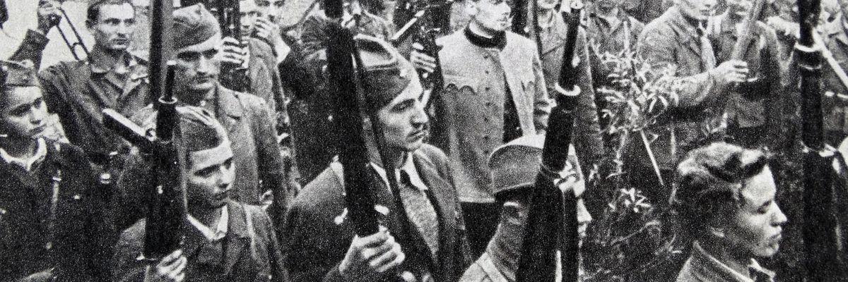 partigiani tito guerra jugoslavia italia foibe