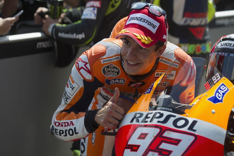 MotoGp, Gp Germania – Marquez fenomeno, Rossi sottotono