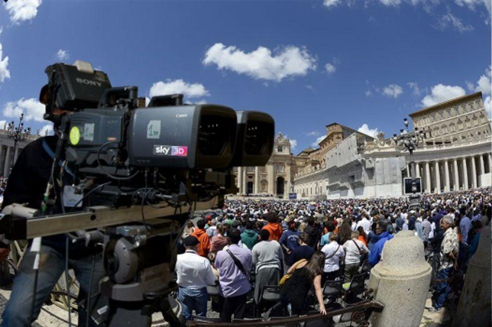 Piazza San Pietro: la prima canonizzazione in 3D