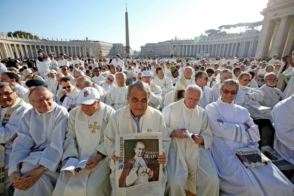 Paolo VI beato: le immagini