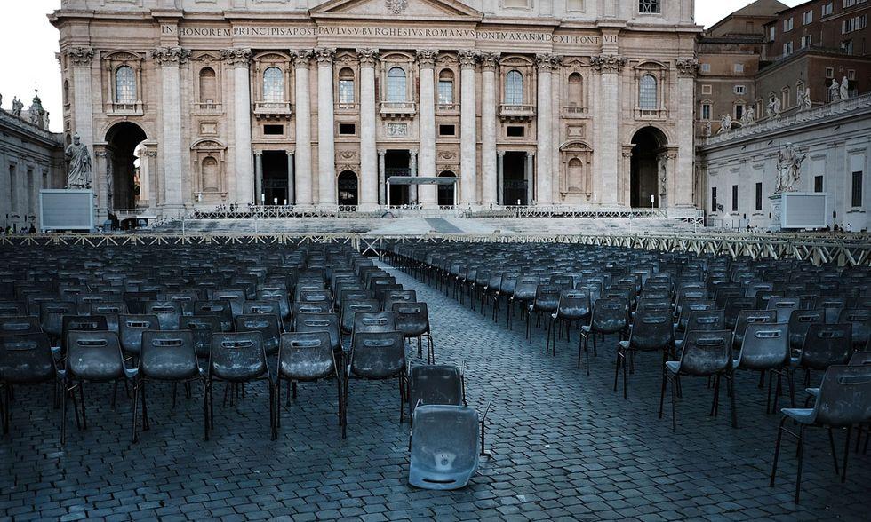 Piazza San Pietro Roma Vaticano