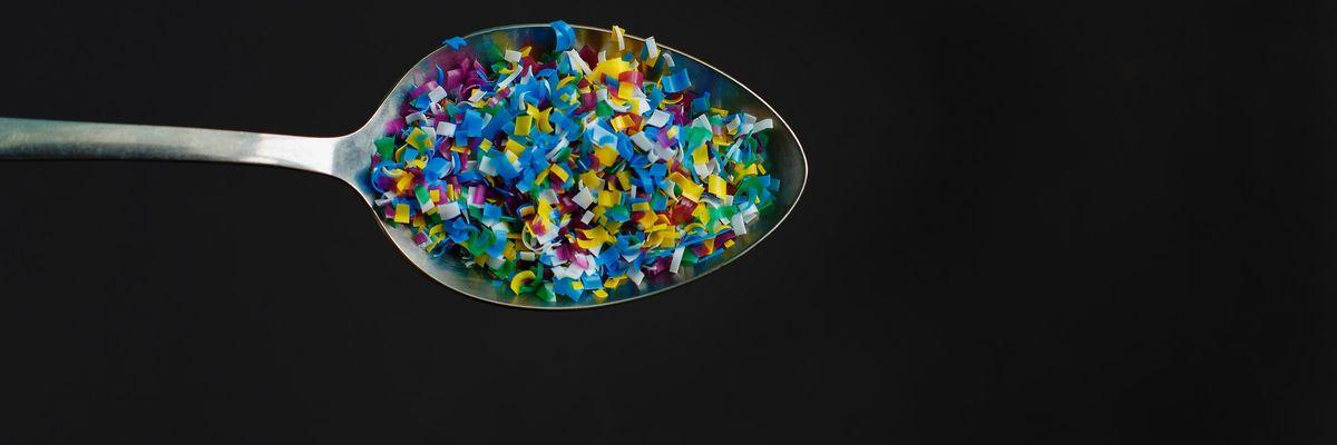 Plastica microplastiche