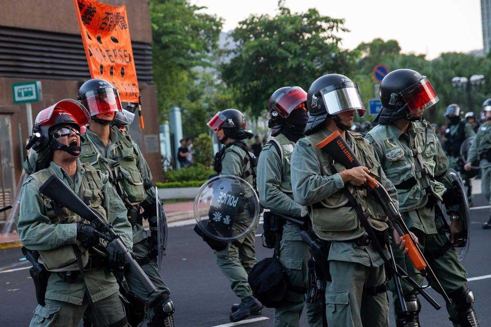 Polizia-Hong-Kong
