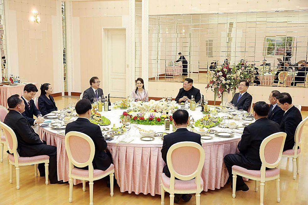Corea del Nord: il menu del summit con il Sud