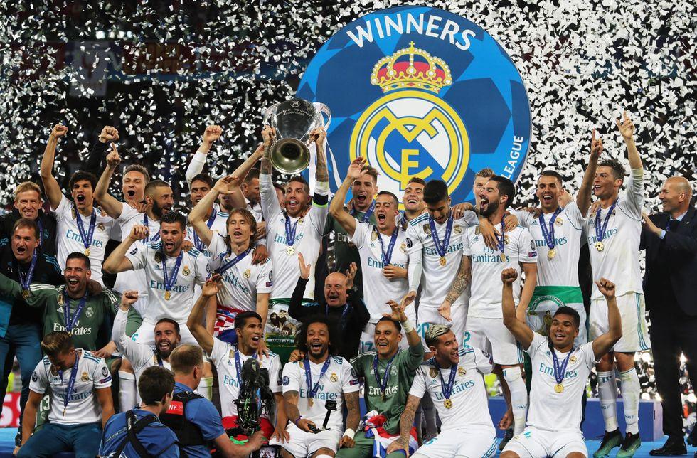 real madrid champions league kiev record
