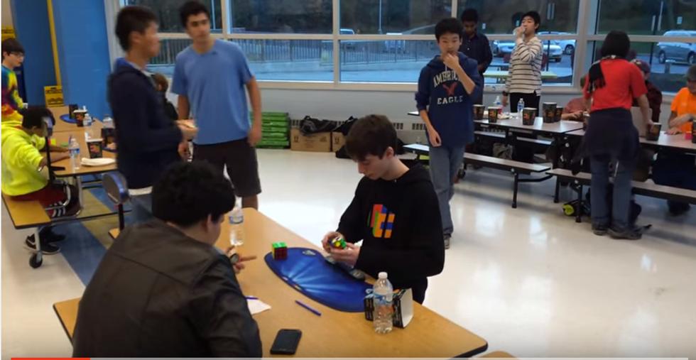 Record Cubo di Rubik