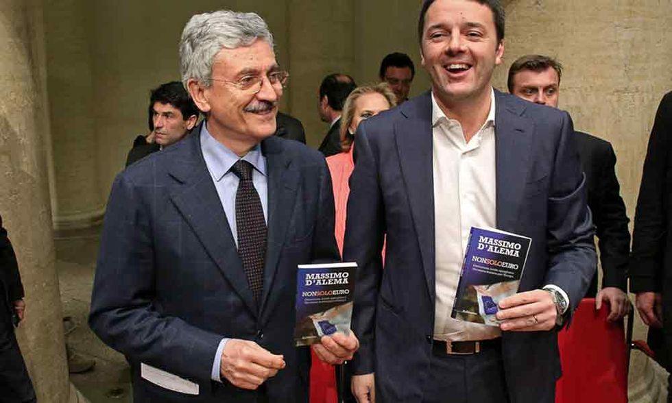 D'Alema vs Renzi: storia di un reciproco disprezzo
