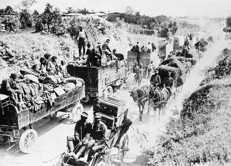 Isonzo prima guerra ondiale