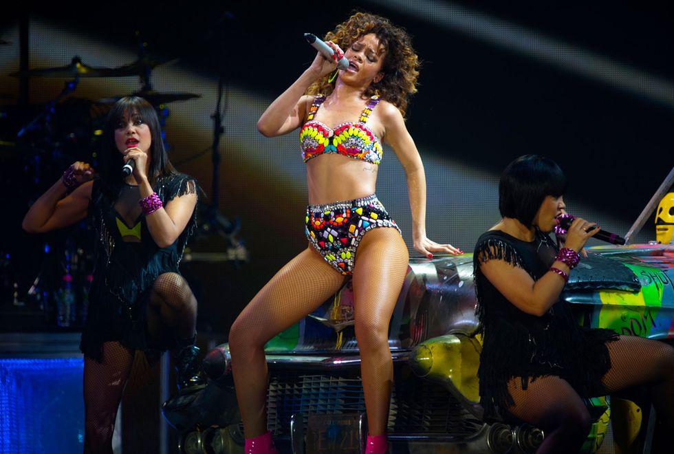 Rihanna, la panterona della musica pop