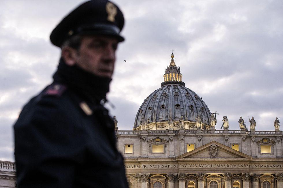 La polizia italiana non è entrata in Vaticano