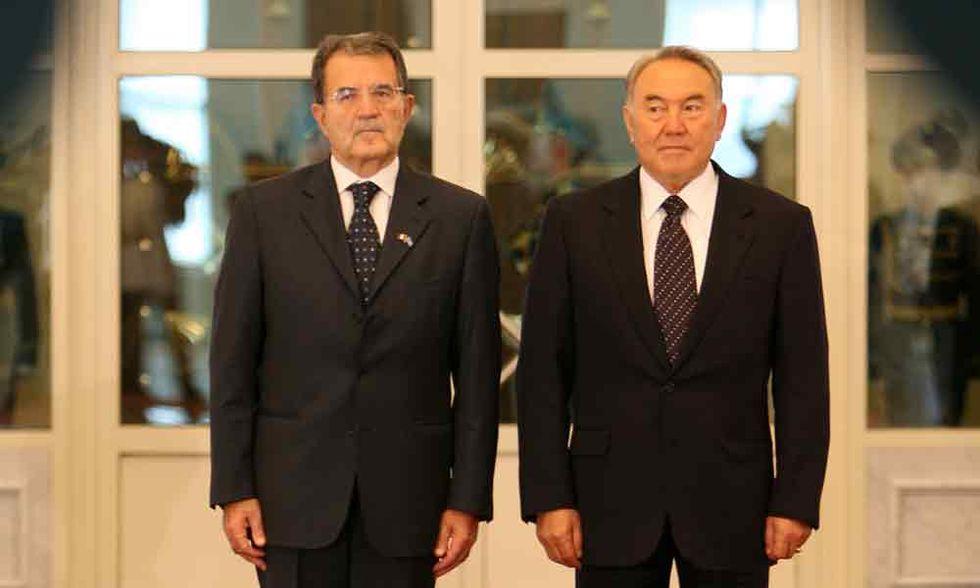 Anche Prodi alla corte del re kazako