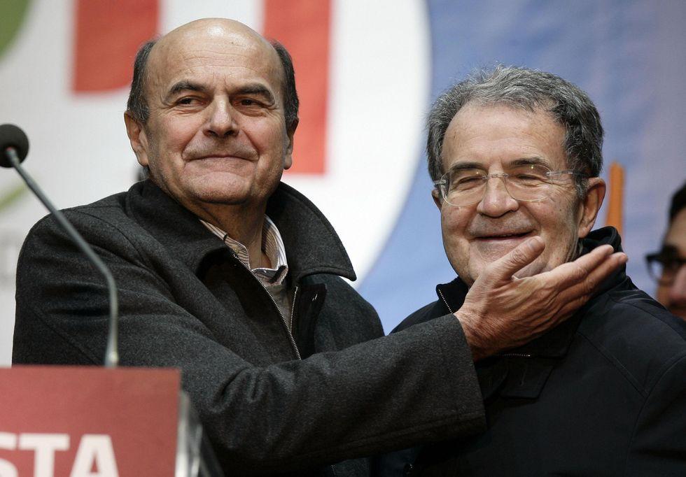 Prodi, Bersani, Letta: vogliono rifare l'Ulivo