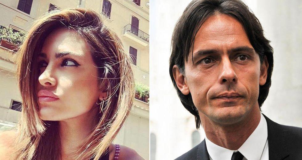 Rosa Perrotta e Filippo Inzaghi