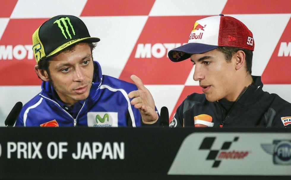 Gp del Giappone: Marquez al primo match point per il Mondiale