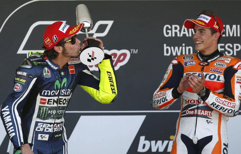 """Valentino Rossi vs il """"cabroncito"""""""