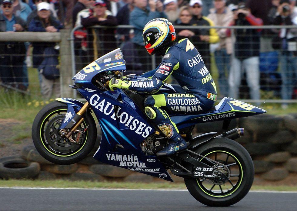 Rossi, cinque volte mondiale a Phillip Island