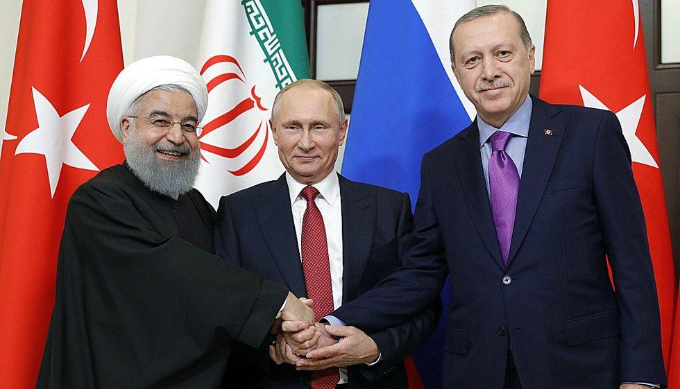 Rouhani-putin-erdogan