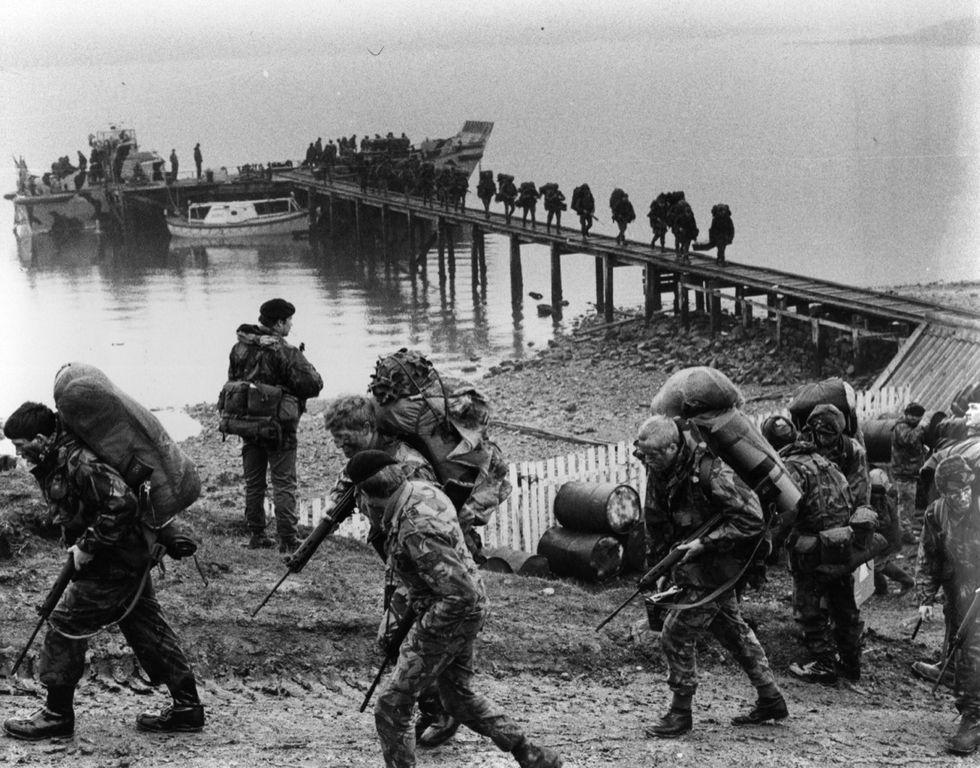 Aprile 1982: La guerra per le isole Falkland