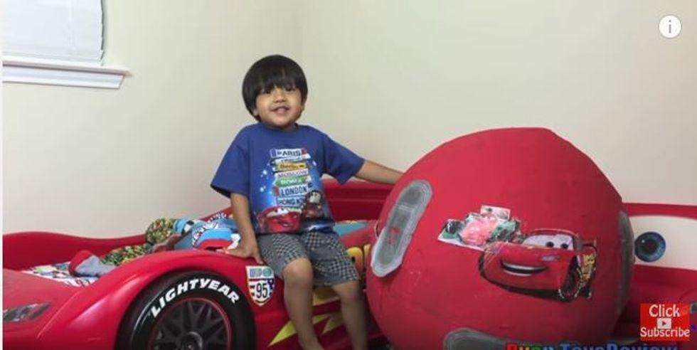 Ryan, a 6 anni è uno youtuber da 11 milioni l'anno