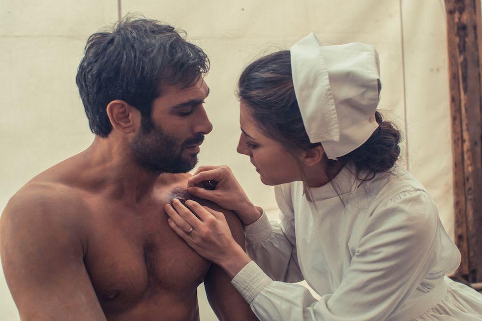 Sacrificio d'amore Francesco Arca e Francesca Valtorta