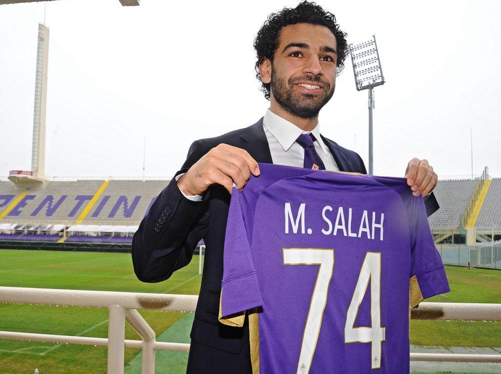 Fiorentina: Salah sceglie il 74 in memoria delle vittime di Port Said