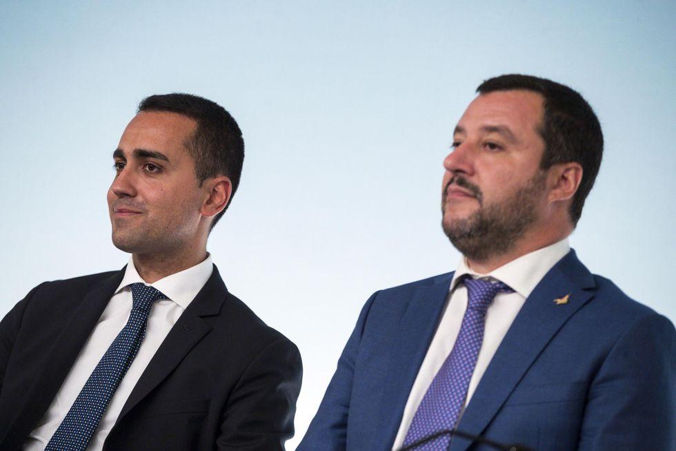 Salvini Di Maio governo politica elezioni