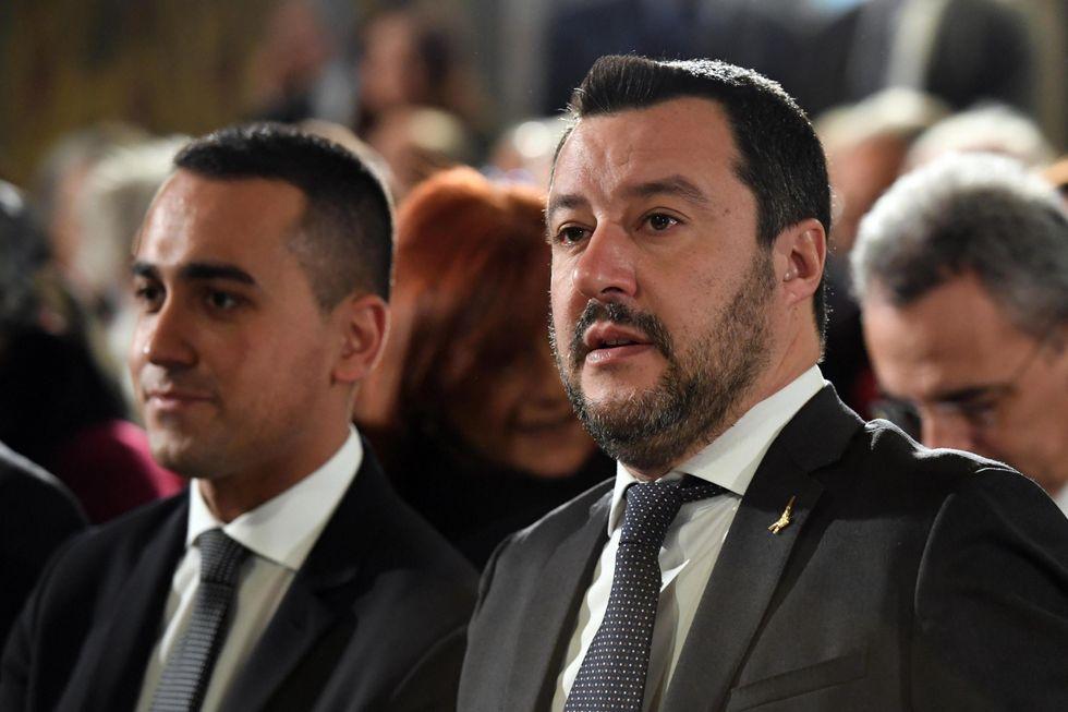 Salvini Di Maio politica Governo