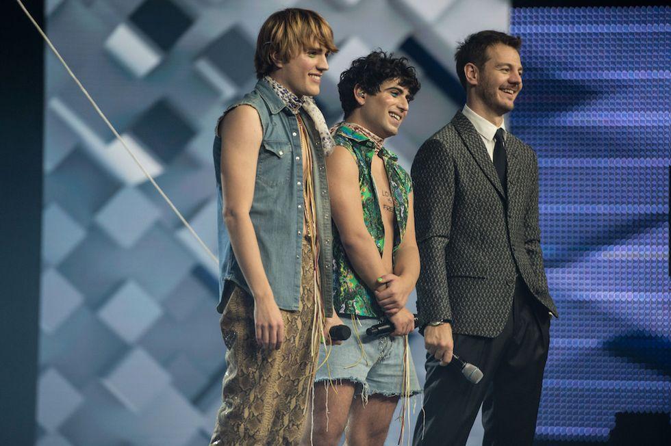 Sam & Stenn e Alessandro Cattelan X Factor 11