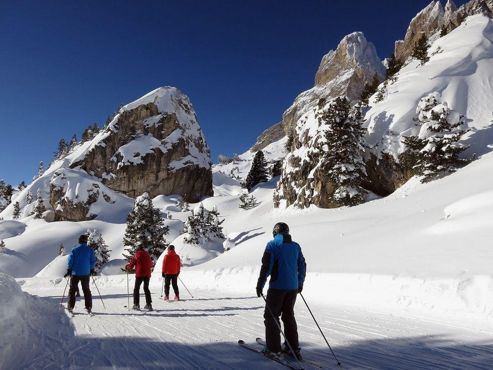 Introducing Italian top skiing venues