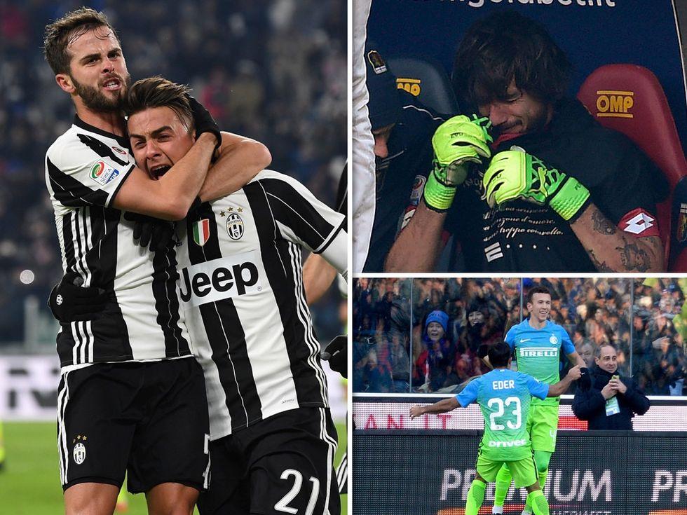 Serie A, 19a: Dybala torna al gol, la rinascita dell'Inter e il dramma di Perin