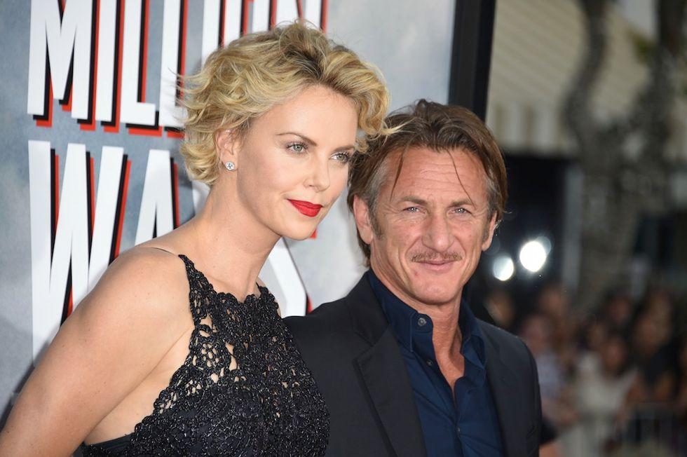 """Sean Penn: """"Ho perso la testa per Charlize"""""""
