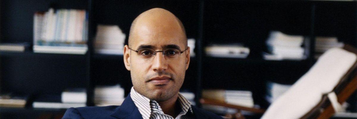 Seif El Islam figlio del Colonnello Gheddafi