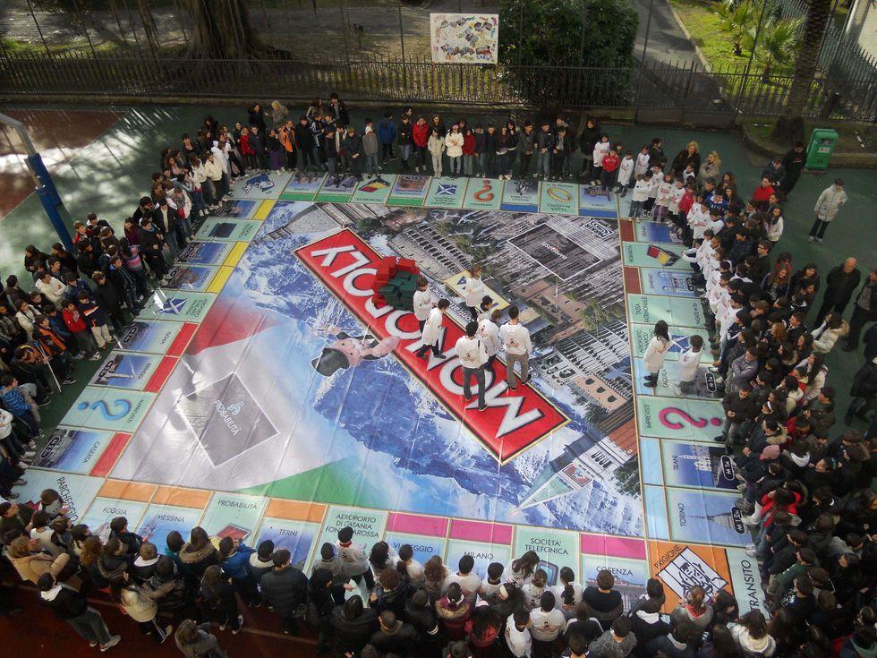 Settimana del gioco in scatola_Monopoly gigante San Remo