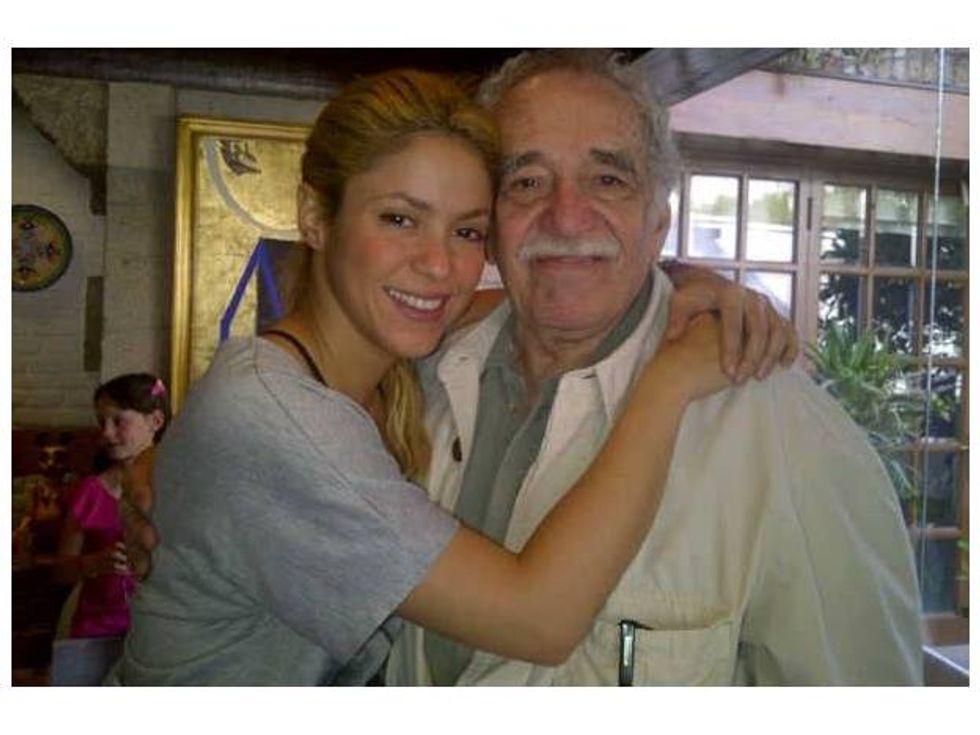 Shakira piange Garcia Marquez - Il messaggio su Facebook