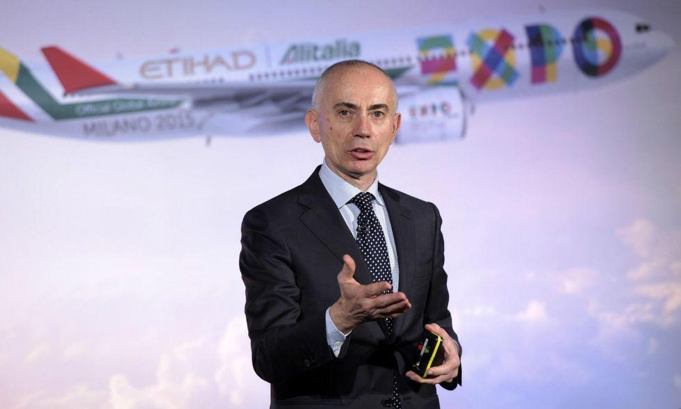 Alitalia, si dimette l'amministratore delegato Cassano
