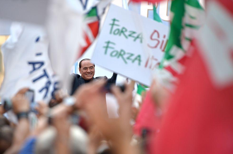 """Il popolo """"eversivo"""" di Berlusconi"""