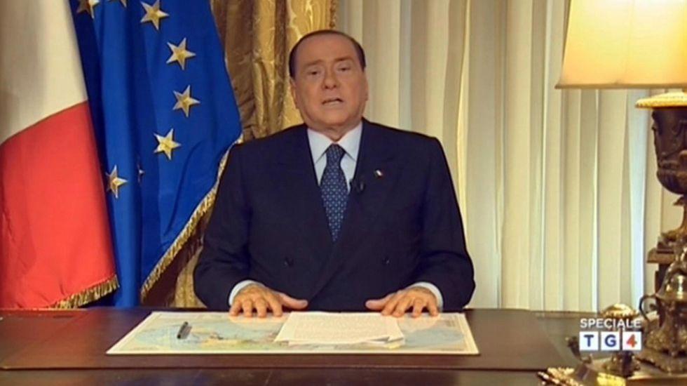 """Berlusconi: """"Non mollo e ricostruisco Forza Italia"""""""