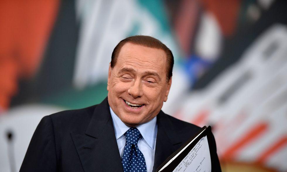 Berlusconi e il cerchio magico... scelto da lui