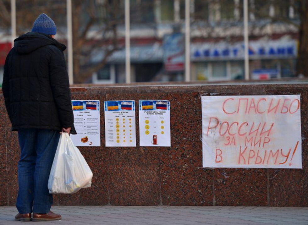 Referendum: la Crimea sceglie la Russia