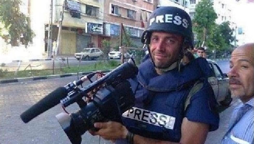 Giornalista italiano ucciso a Gaza. È Simone Camilli