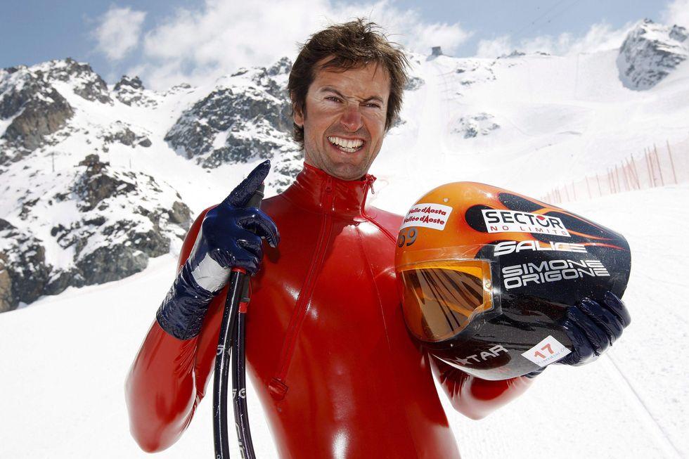 Sci di velocità: nuovo record per Simone Origone