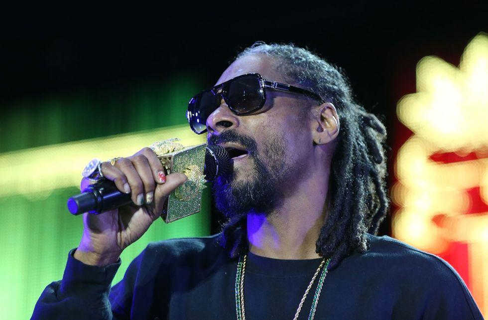 Snoop Dogg nonno rap