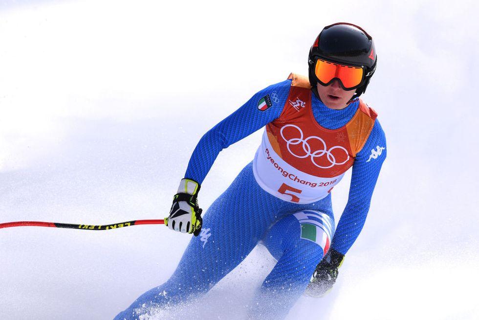olimpiadi invernali 2018 medaglie Italia podi Sofia Goggia