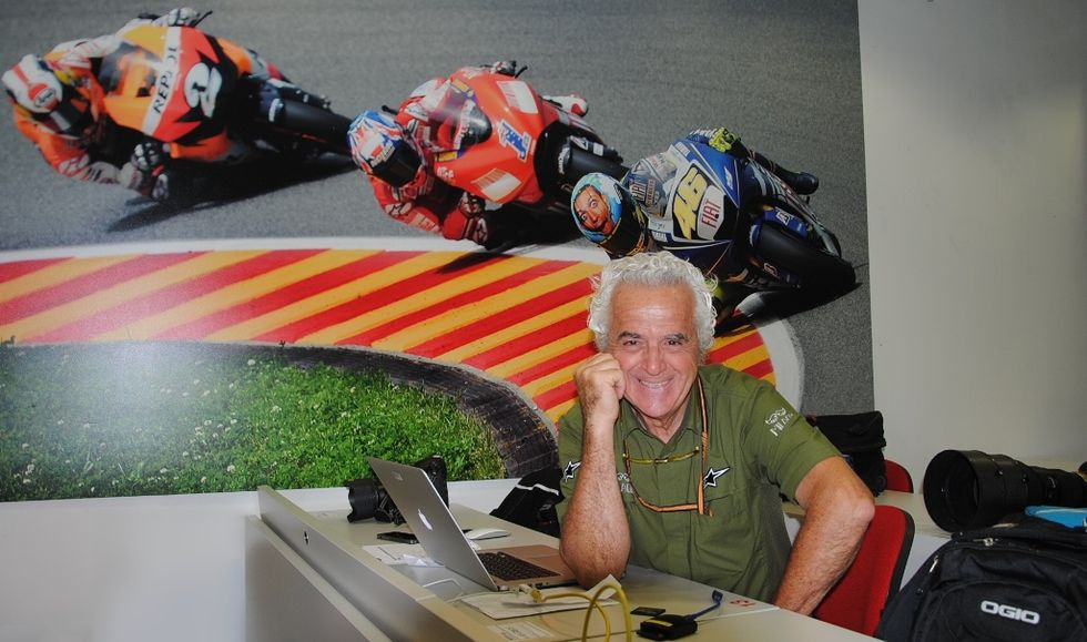 Gigi Soldano: la leggenda del fotografo sul circuito