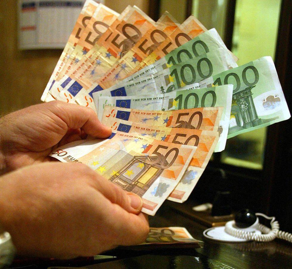 soldi contanti euro